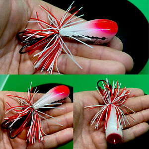 """Jump frog lure 2.5"""" 9 Gram Weedless Imported Topwater Frog"""