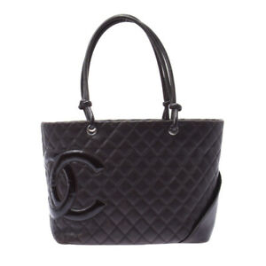 CHANEL Cambon line Large tote Dark blanc bags 802500038023000 $1172.00