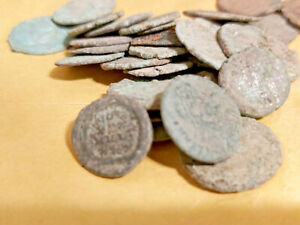 🔥20 UNCLEANED AND UNGRADED ROMAN COINS🔥 BONUS COINS $39.99
