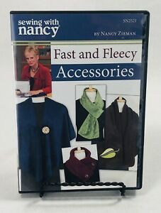 Sewing with Nancy DVD Fast and Fleecy Accessories $6.99