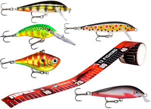Special set for rapala lures lot of 5pcs Sticker
