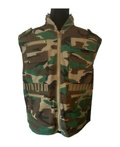 Rothco Ranger Vest Rothco Tactical Hunting Camo Vest Camouflage Vest Small