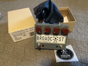 Hudson Electronics Broadcast Dual Preamp Overdrive boost