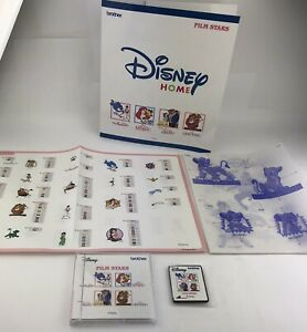 Hard To Find Brother Machine Embroidery Design Card Disney Film Stars $129.99