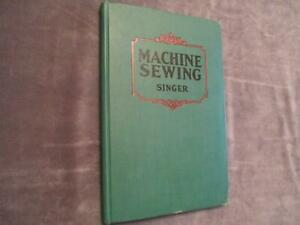 Singer Machine Sewing a Treatise on Care amp; Use of Sewing Machines Ships FREE $85.00