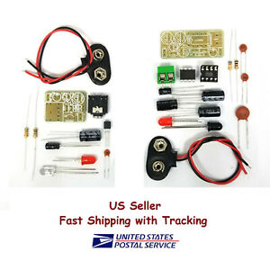 Infrared IR Wireless Sound Voice Transmission DIY Kit US Seller Fast Shipping $4.75