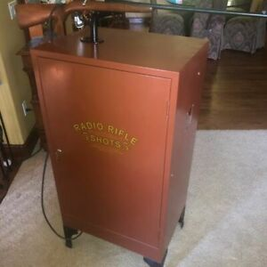 """""""Radio Rifle"""" antique shooting arcade GAME by Coinomatic Corp $5254.50"""