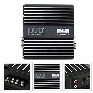 YaeCCC 2200W 2 Channel Car Amplifier Under Stereo Audio Super Bass Power Amp ... $44.08