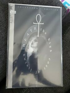 DEATH THE HIGH COST OF LIVING 1993 #1 Neil Gaiman Platinum COLLECTORS Edition $100.00