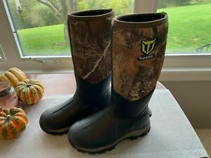 TideWe Hunting Boots for Men 16quot; 6mm Neoprene and Rubber Durable Outdoor Boot