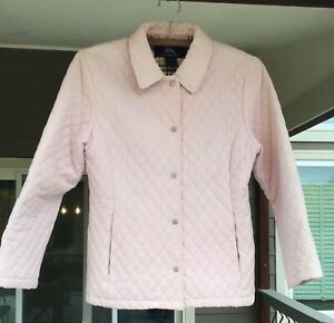 Burberry Girl#x27;s Quilted Jacket Size 12 $150.00