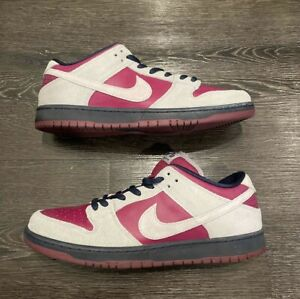Nike SB Dunk Low True Berry Gray Atmosphere Used size 13