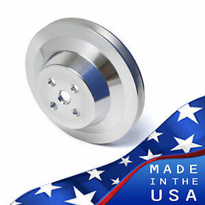Billet Aluminum Ford Water Pump Pulley V-Belt 302 351W 351C 351M 400 SBF 5.0
