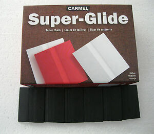 Carmel Super Glide Premium 48 Pieces Black Tailors Chalk $16.95