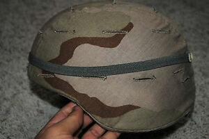 BRAND NEW US ARMY ISSUE - MSA ACH MICH HELMET WITH REVERSIBLE COVER - MEDIUM