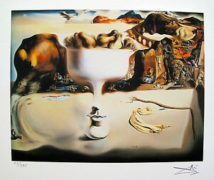 Salvador Dali APPARITION OF FACE Facsimile Signed amp; Numbered Art Giclee $49.99