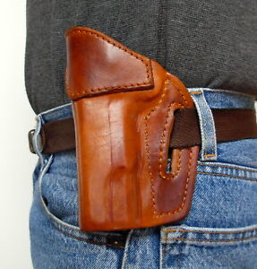 Sendero Tactical Outfitters 1911 Half Cake Leather Holster NEW Left Hand