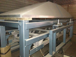 Gateway Precison EPS Foam Panel Embossing System auto sheet feeder styrofoam