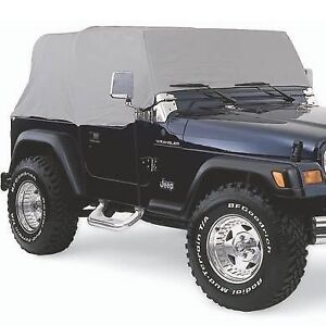 Smittybilt 1167 Cab Cover Spice Denim Water Resistant for 92-06 Jeep Wrangler
