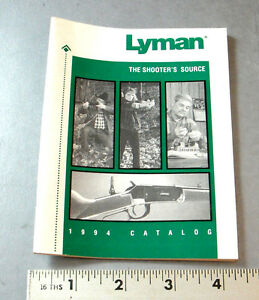 1994 LYMAN CATALOG OF RELOADING COMPONENTS & SUPPLIES
