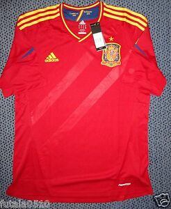 SPAIN EURO 2012 AUTHENTIC PLAYER ISSUE SHIRT -Size XL- FORMOTION