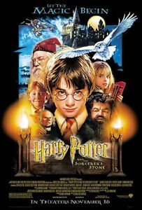HARRY POTTER AND THE SORCERER#x27;S STONE MOVIE POSTER REGULAR 27quot; X 40quot;