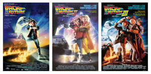 BACK TO THE FUTURE I II amp; III 3 PIECE MOVIE POSTER SET SIZE: 27quot; X 40quot;