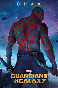 GUARDIANS OF THE GALAXY - MOVIE POSTER (DRAX) (SIZE: 24
