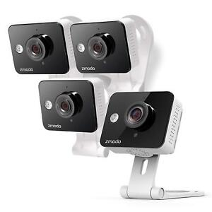 Zmodo Wireless Two-Way Audio HD IP Home Security Camera (4 Pack) IR Night Vision