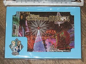 Disney Frozen Holiday Package FROZEN ANNA ELSA & OLAF Pin & Lithograph LIMITED