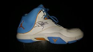 Carmelo Anthony Game Used Shoes - NBA Charity Item Denver Nuggets NY Knicks