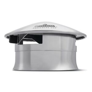 SmokeWare SS Vented Chimney Cap for Big Green Egg (Med, L & XL)