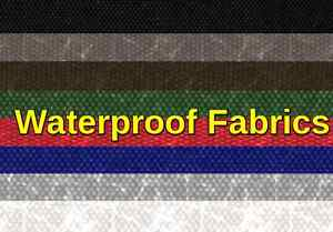 Outdoor Upholstery Waterproof Soft Solid Canvas Denier fabric 60