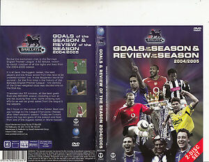 Goals Of The Seasons 2004 5 Soccar:Barclays:English Premier League 2 Disc DVD