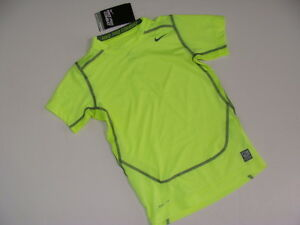 Nike Dry Fit Shirt Top Boy's Boy Size M 5-6 NWT NEW Yellow Black