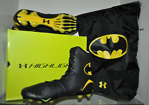 Under Armour Highlight MC Alter Ego BATMAN Football Cleats NIB