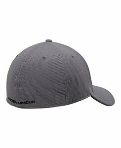 NEW Under Armour Mens Blitzing II Cap Hat Graphite Black Large X Large