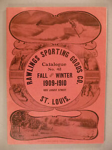 Rawlings Sporting Goods CATALOG - 1909-1910 ~firearms rifles hunting outdoors