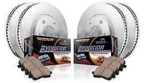 Power Stop KOE2164 FrontRear 1-Click Replacement Brake Kit for Ram 1500Durango