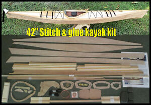 42quot; Stitch amp; Glue quot;hybridquot; kayak kit now with included DVD amp; paddle