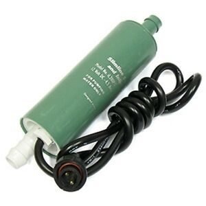 Rule iL280PG Inline Submersible Water Pump - 12V - 280GPH -14 PSI - 12VDC