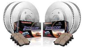 Power Stop KOE5856 FrontRear 1-Click OE Replacement Brake Kit for Acura TL