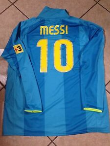 Spain Fc Barcelona Messi Jersey Argentina  Football Shirt Rare Nike Soccer