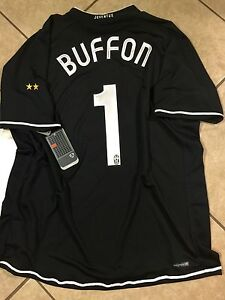 ITALY JUVENTUS  BUFFON Goalkeeper Shirt   JERSEY  FOOTBALL ORIGINAL RARE