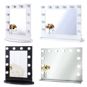 Chende Lighted Vanity Mirror Hollywood Makeup Mirror with Dimmer for Dressing
