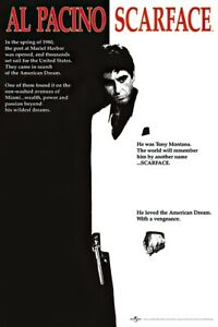 SCARFACE MOVIE POSTER PRINT REGULAR SIZE: 24quot; X 36quot;