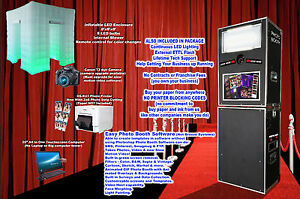 Photo Booth -With LED ENCLOSURE We Help You Start - ON SALE