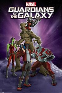 GUARDIANS OF THE GALAXY - MARVEL COMICS POSTER / PRINT (CHARACTERS)