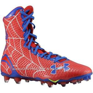 Under Armour Alter Ego SPIDERMAN Highlight MC Clutchfit Football Cleats Mens NIB
