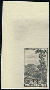 #765 RARE GUMMED1935 FARLEY PARKS ISSUE MINT OG NH CORNER SHEET MARGIN